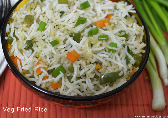 Veg Fried Rice / Chinese Fried Rice