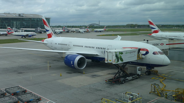 British Airways Boeing 787 Dreamliner