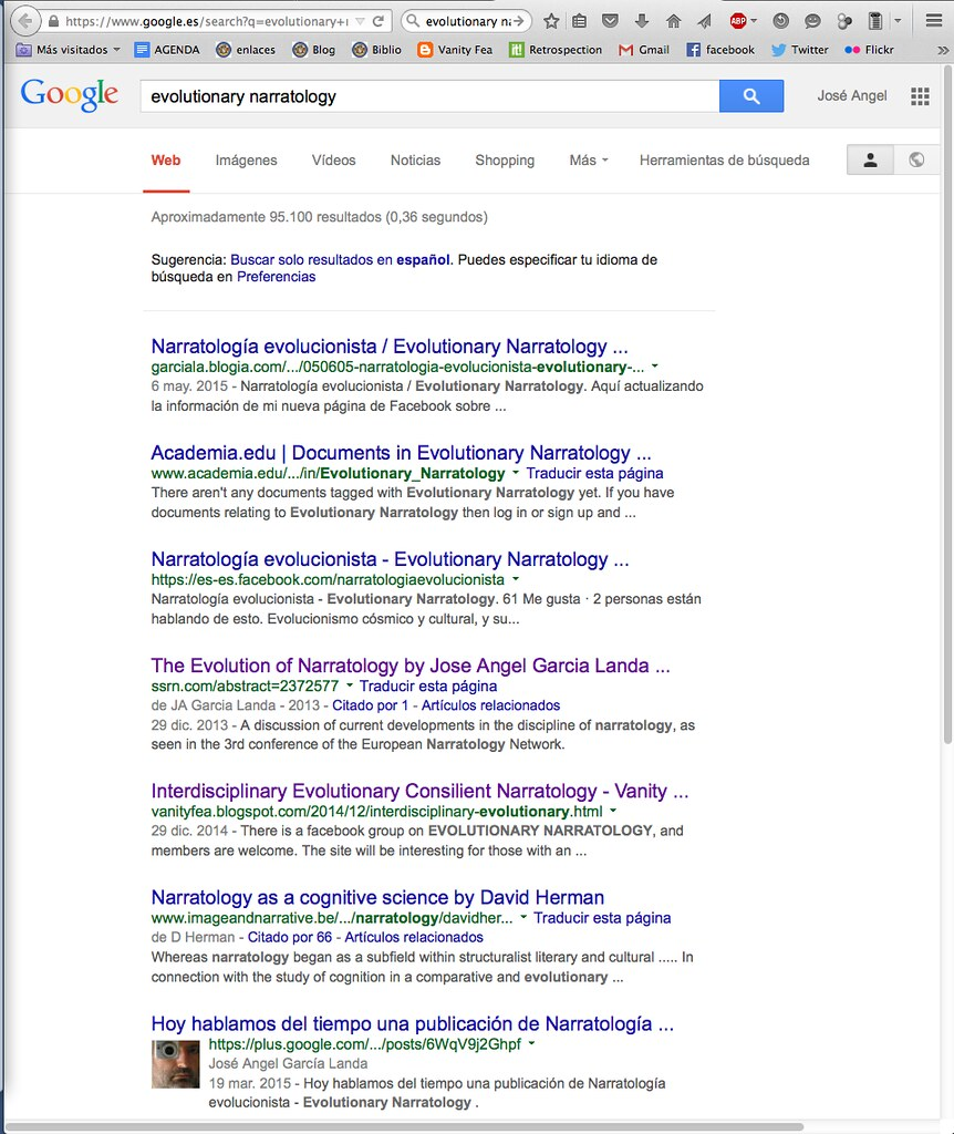 Evolutionary Narratology Google Search
