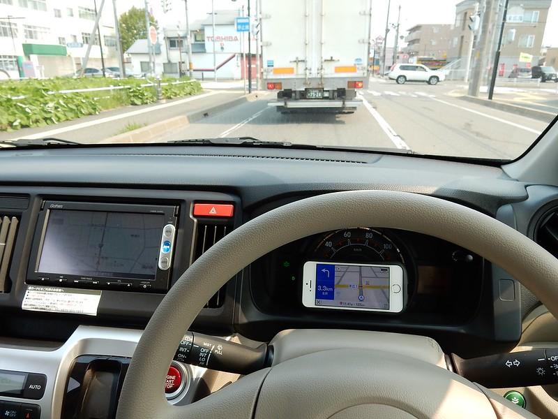 N-WGN運転席