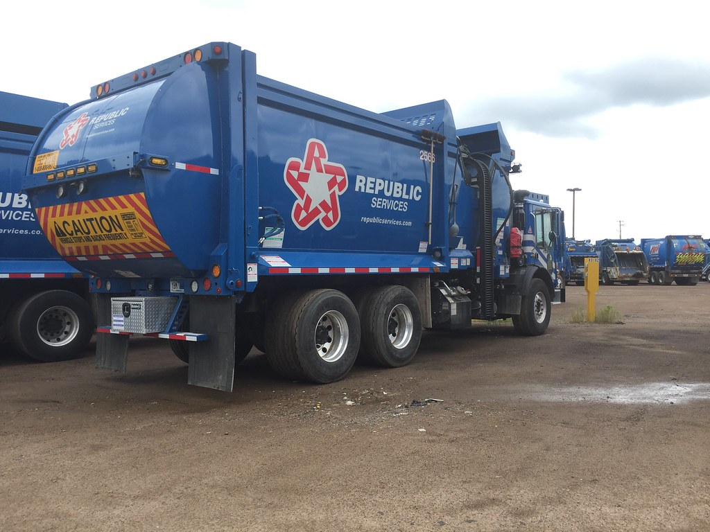 by Garbage Trucks from Minnesota Republic Services Mack ZR truck 2566. | by  Garbage Trucks from Minnesota
