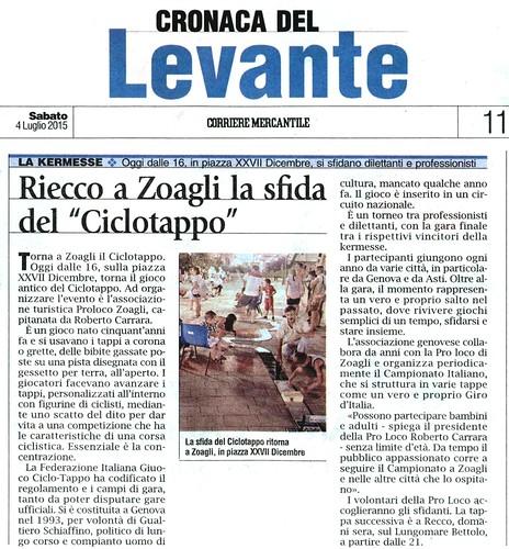 2015-07-04 Corriere Mercantile Levante