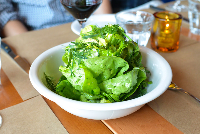 Butter Lettuces fines herbs, lemon vinaigrette
