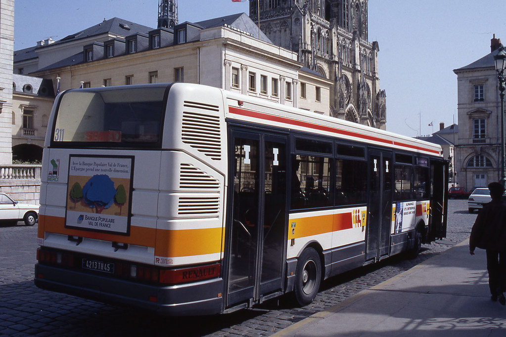 jhm 1992 0027 france orl ans autobus renault r312 flickr. Black Bedroom Furniture Sets. Home Design Ideas