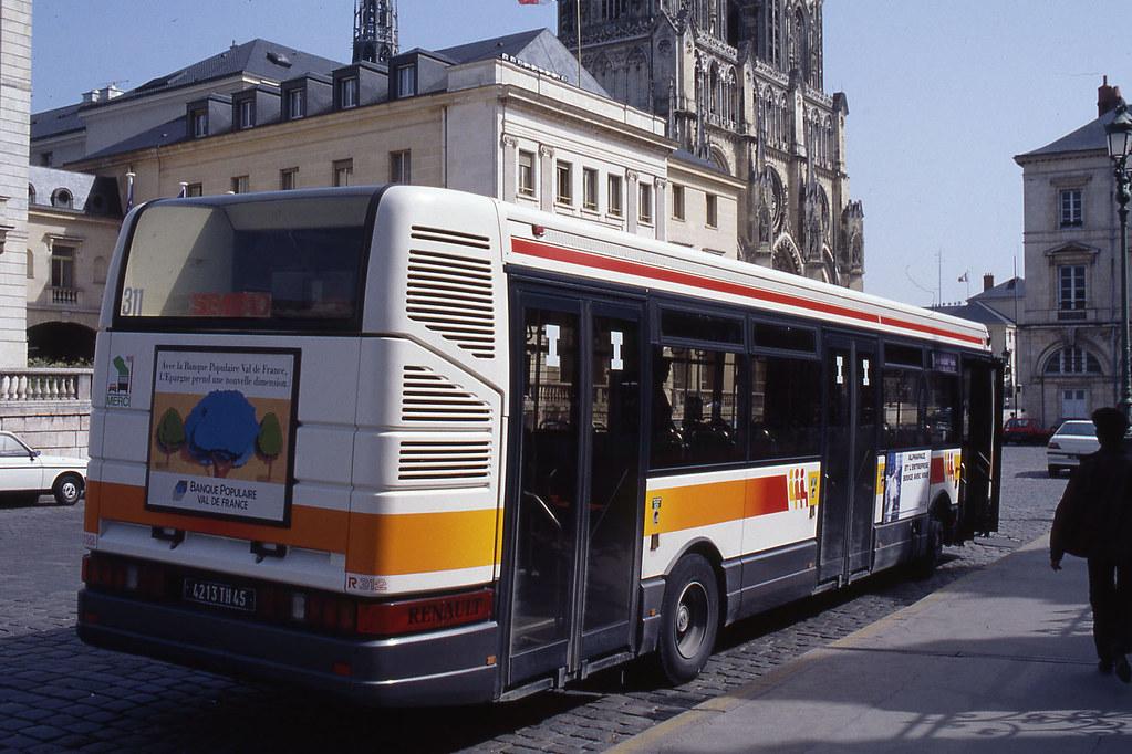 jhm 1992 0027 france orl ans autobus renault r312 flickr. Black Bedroom Furniture Sets. Home Design Ideas