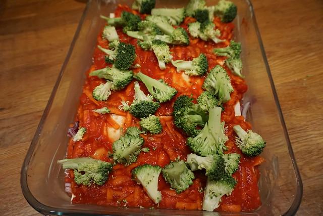 Vegetarisk lasagne alá vad som finns i kylskåpet - 2