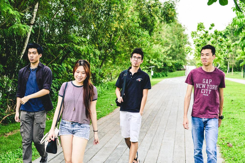 Punggol Promenade Riverside Walk