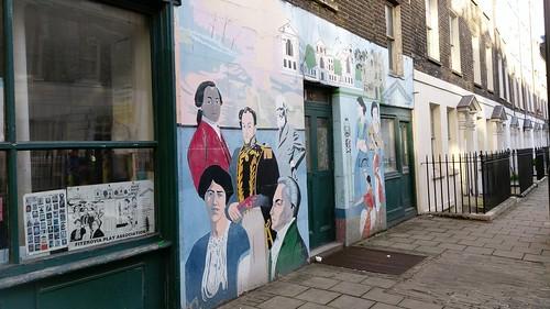 Fitzrovia Play Association Mural, Goodge Place, London