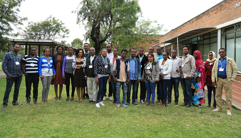 Participants at the gender capacity assessment training in November 2016
