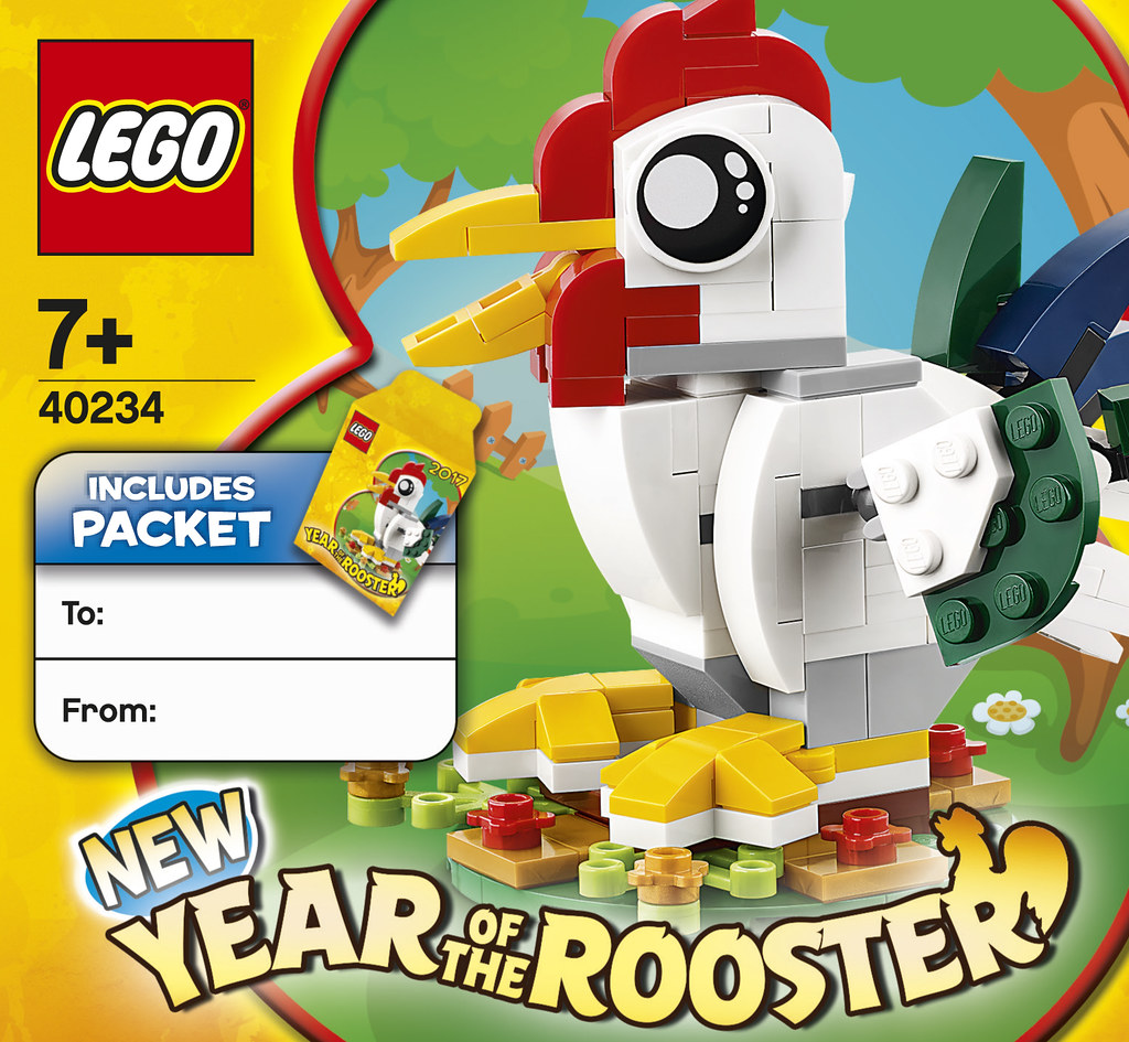 How to get a LEGO Lunar New Year Rooster in Singapore - Alvinology