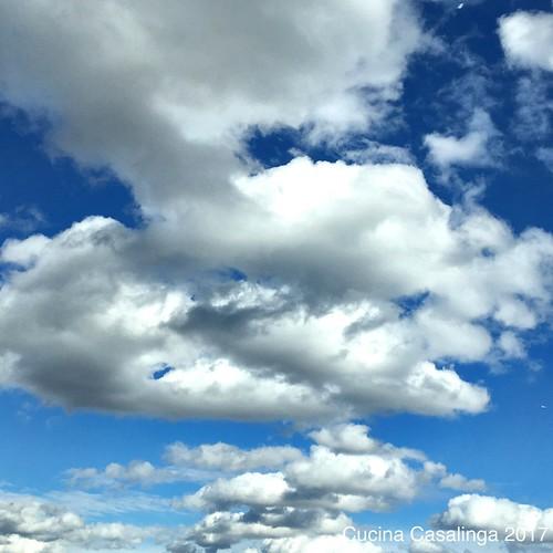 Bayerischer Himmel im Dachauer Land