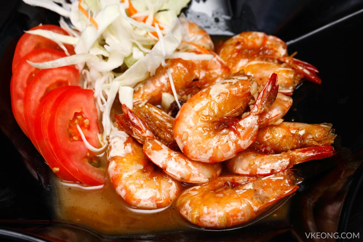 Soi 55 Fried Prawns with Tamarind