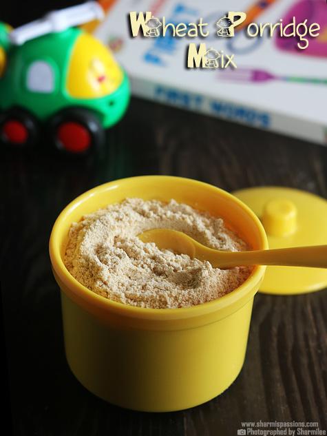 Wheat Porridge Mix Recipe