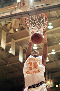 James White dunks during the McDonald's All-American High School Game | by Active.com