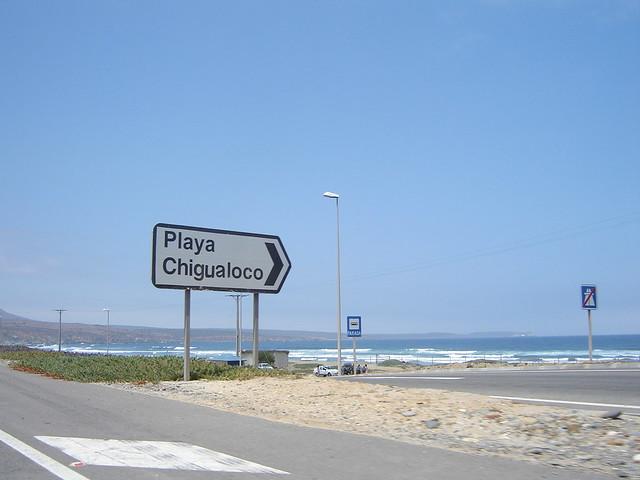 Resultado de imagen para playa chigualoco chile