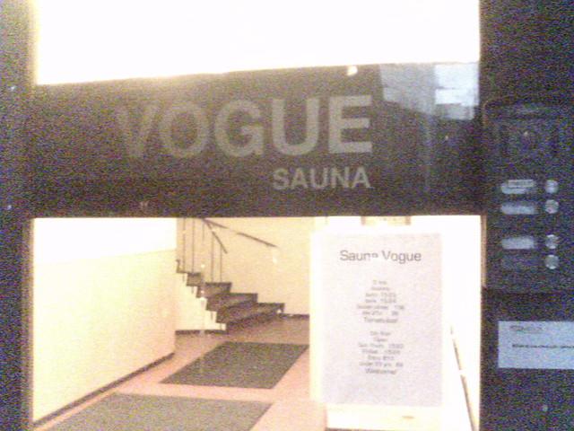 Vogue gay sauna