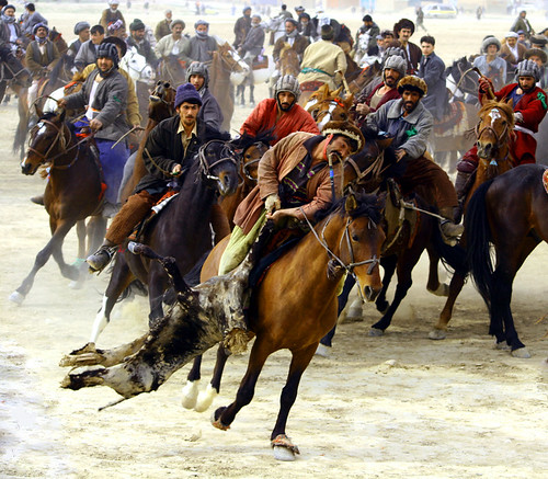 Buzkashi, Afghanistan | by Po Lo