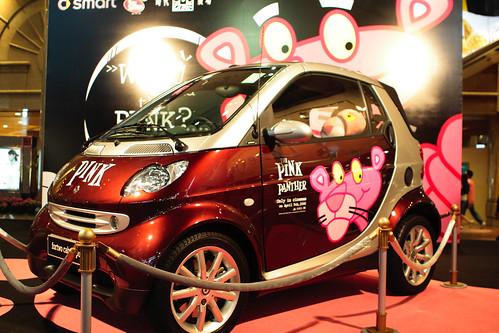 pink panther x smart car tommy wong flickr. Black Bedroom Furniture Sets. Home Design Ideas