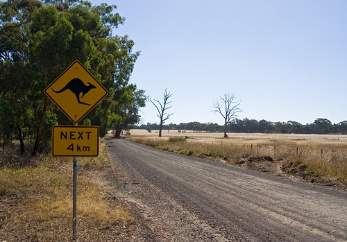 Australian country road | by Nelson Minar