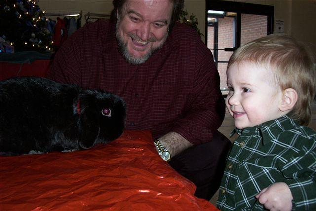 The Christmas Bunny.Eben Papa The Christmas Bunny Amanda Tisseur Flickr