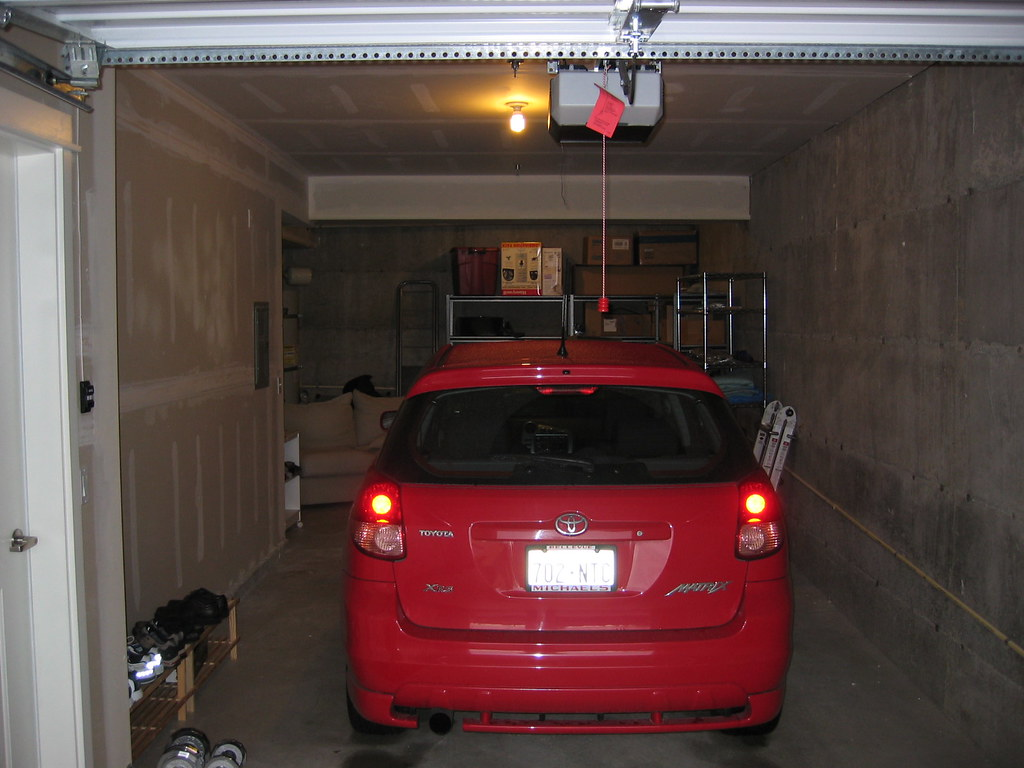 garage to show how long the 2 car tandem garage is whi flickr. Black Bedroom Furniture Sets. Home Design Ideas