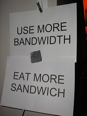more bandwidth && more sandwich | by EisFrei