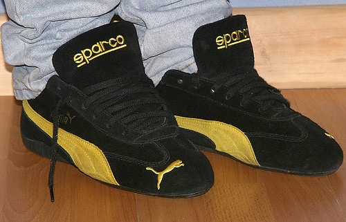 Puma/Sparco Speed Cat   As they used to be with Sparco writt…   Flickr