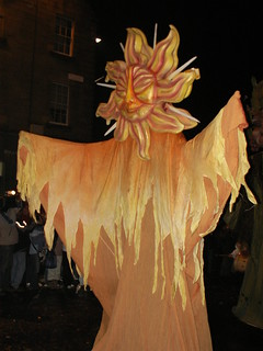Catalonian Sun Goddess from the Hogmanay Parade | by Stuart Yeates