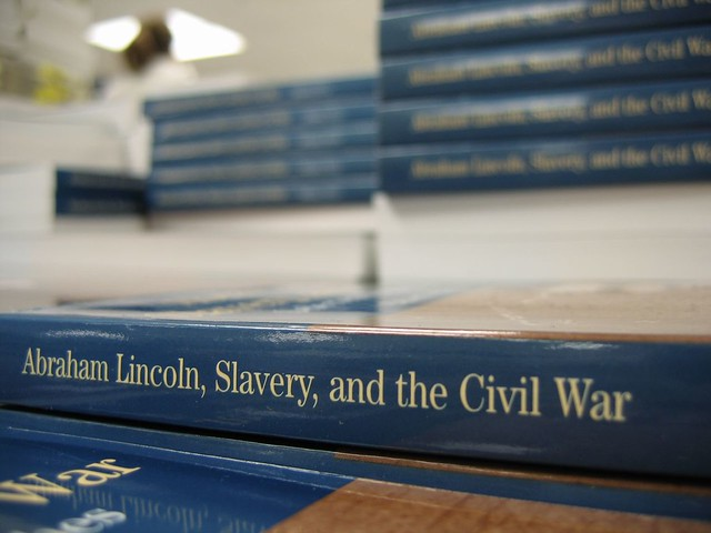 abraham lincoln slavery and the civil Lincoln's parents belonged to a faction of the baptist church that disapproved of slavery, and this affiliation may account for abraham's later statement that he was naturally anti-slavery and could not remember when he did not so think, and feel.