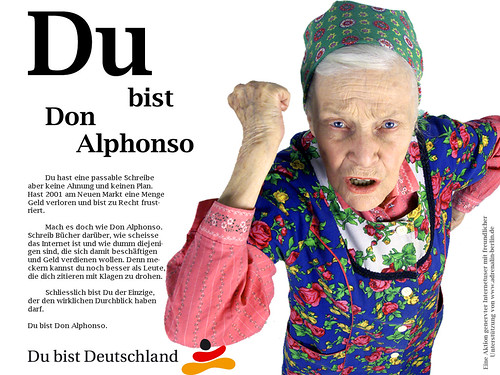 Du bist Don Alphonso | by genesis3000