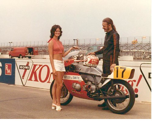 Justus Taylor - 1973 B&S F-750 GP bike | by RubberChickenRacingGarage