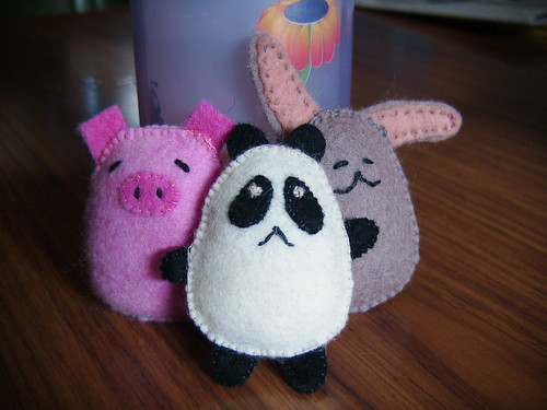 Little felt friends | by Soozs