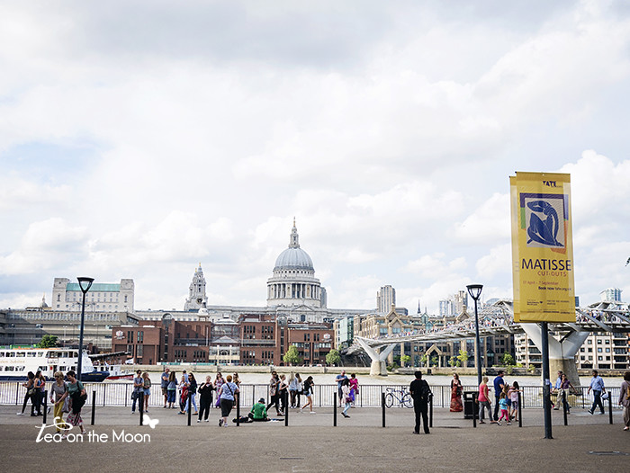London Millenium Bridge - Tate Modern