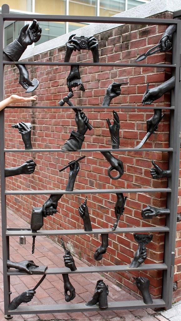 Philadelphia Hands Gate
