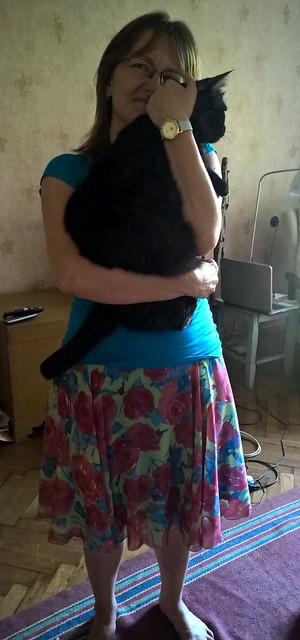 пупсик и чёрный кот Муся | ХорошоГромко.ру