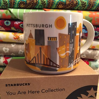 205:365 A new addition to my collection #yah #youarehere #youareherecollection #Starbucks #pittsburgh | by {Karamat}