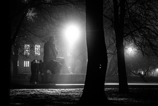 """Foggy Evening @Tallinn, Estonia"" 