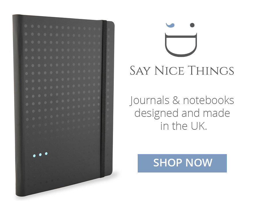 Say Nice Things Notebooks