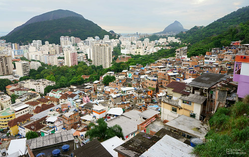 Rio desde la Favela Santa Marta
