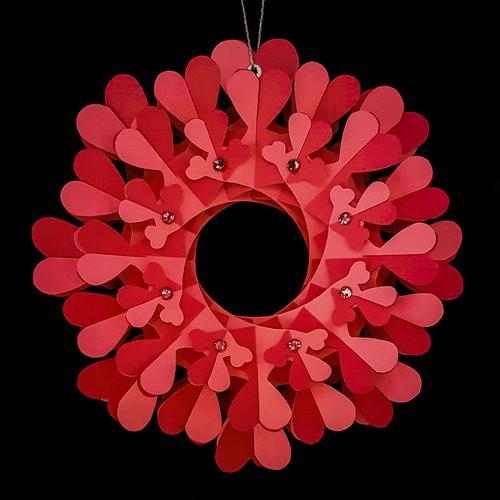 Coral Paper Heart Torus