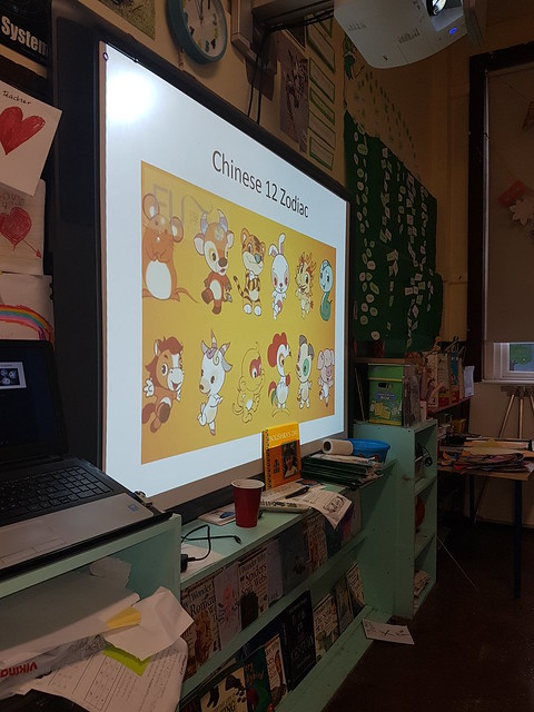 Chinese New Year celebrations in 3rd class!