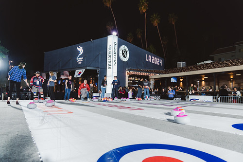 Curling and Karaoke in Koreatown