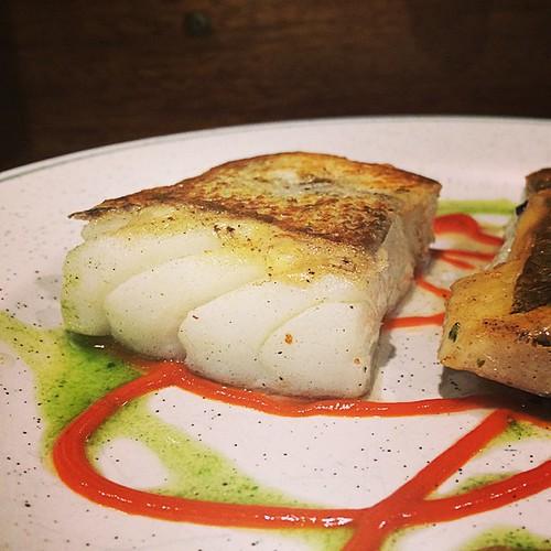Confit salt cod #sansebastian