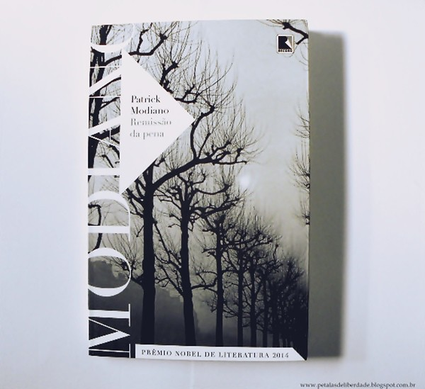 Capa livro Remissão da pena, Patrick Modiano