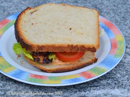 ©Bacon, Lettuce Tomato Sandwich - BLT  Kartoffelstärke