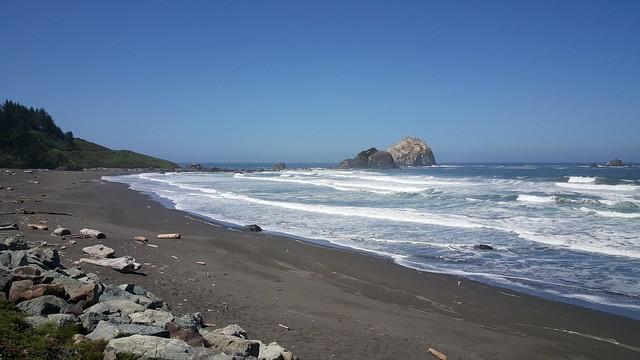 California Coast / The Pacific Ocean