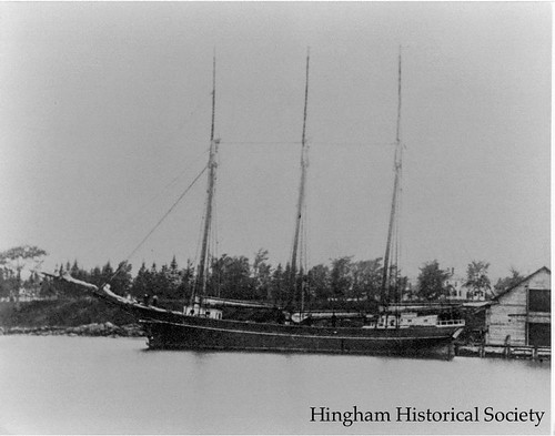 Schooner Lizzie C. Lane | by Old Derby