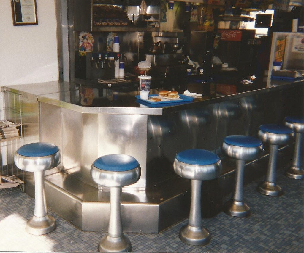 white castle interior counter | from 1997: interior shot of … | flickr