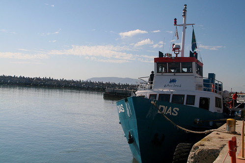 Boat to Robben Island