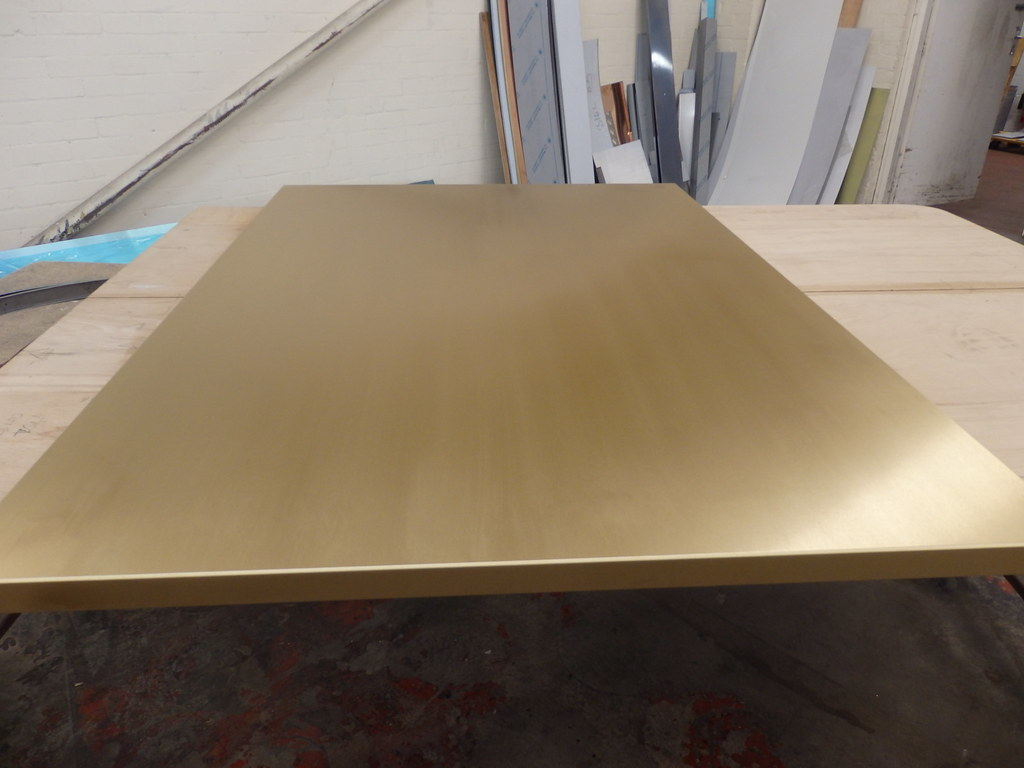 Brushed Brass Table Top | OLYMPUS DIGITAL CAMERA | Flickr